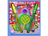 GIANT BUBBLEJOB LOT FUN TOY PACK BUBBLE GUN 2 X WANDS SWORDS SHAPE BUBBLE MAKING FLUID EBAY AMAZON