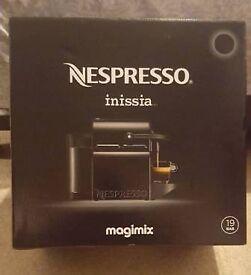 Brand New Nespresso Inissia Machine
