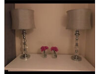 2 brand new table lamps ! Won't find them cheaper