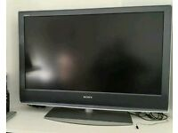 """40""""Sony LCD tv full hd with built-in freeview."""