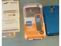 Samsung s5 empty box plus slim Armor phone xase