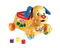 Fisher-Price - Laugh & Learn - Stride-to-Ride Puppy - English Ed