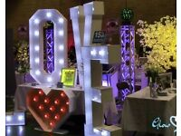 Mobile Illuminated Wedding and Party Decoration Businesses for sale