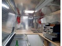 Mobile Catering Burger Van Business For Sale