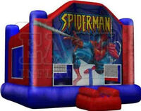 INFLATABLE SPIDERMAN BOUNCY (PARKER PARTIES)