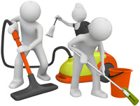 Small cleaning jobs- after reno, new construction