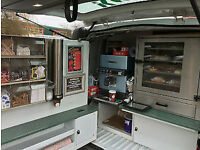 Profitable Ready To Go Mobile Sandwich Van Business, with Route + Hot & Cold, Food & Drinks, Loaded