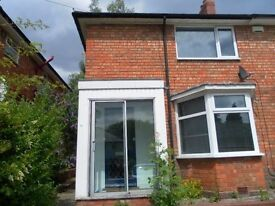 Fully furnished 4 bedroom house close to QE Hospital in Selly Oak