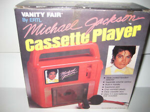 Michael Jackson Cassette Player Still in origional box!