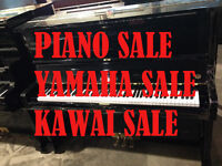 All-New Stock of Used Yamaha and Kawai Uprights