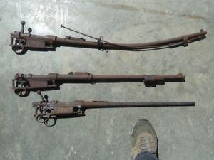 Gun Barrel Wall Hangers
