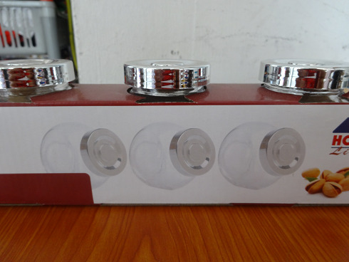 Glass container - small (3 pcs)