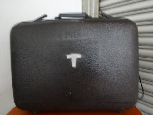 Second Hand Suitcase from 70s-80s (film)