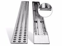 Aluminium Punched decking ramp for recovery trucks / plant / trailer