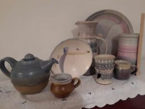 Handmade pottery collection - tremendous value!