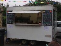 AJC Catering trailer/Burger Van (Double axle)