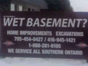 Wet basement? Winter special !! Save u $$$ Kawartha Lakes Peterborough Area image 1