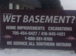Wet leaky basement repairs since 1982 Kawartha Lakes Peterborough Area image 2