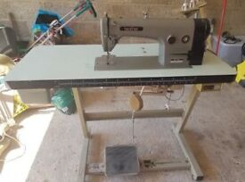 Brother B755-MKII industrial sewing machine. Recently serviced.