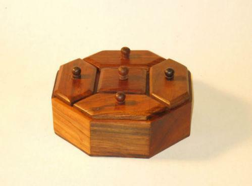 Antique Spice Box Ebay