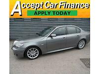 BMW 525 3.0TD auto M Sport FINANCE OFFER FROM £41 PER WEEK!