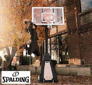 NEW SPALDING BASKETBALL SYSTEM - 130598145 - THE BEAST GLASS 60""