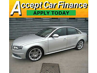 Audi A4 2.0TDI S Line FINANCE OFFER FROM £51 PER WEEK!