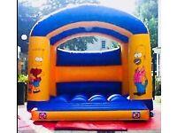 15ft x 15ft Bart Simpson commercial bouncy castle