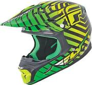 Lime Green Motorcycle Helmet