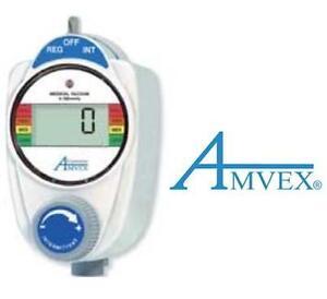 NEW AMVEX MEDICAL VACUUM REGULATOR DIGITAL - 0-300mmHg - CONTINUOUS/INTERMITTENT 108399444