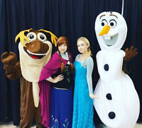 Full Frozen Cast Birthdays, Mascots, Face Painting & MORE !