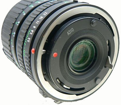 Canon New FD. Easiest mount to recognise