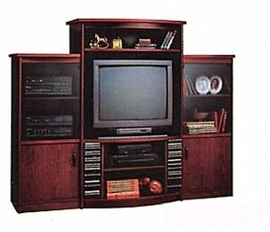 home entertainment center + $25 includes TV