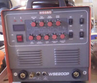 WSE200P  Pulse Tig Stick Welder for Aluminum and Metal