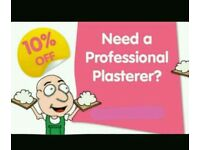 Professional plasterer offering 10%off jobs booked in jan + feb