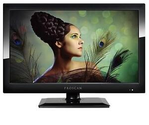 """NEW PROSCAN 19"""" LED HD TV 19 INCH TELEVISION - HDMI - 16:9 - 60HZ 99899928"""