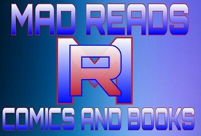 Mad Reads Comics and Books
