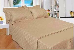 Pure cotton JACQUARD 420 count Quilt cover set  stock sale $15 Enfield Burwood Area Preview