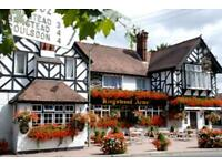 Live in chef de Partie required for busy pub in Surrey