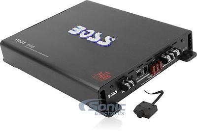 Boss R3400d 3400 Watt Mono Car Audio Class D Power Amplifier Amp   Bass Remote
