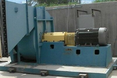 Big Industrial Fanblower 60-250 Horsepower V Good Used