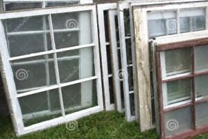 WANTED...... old windows