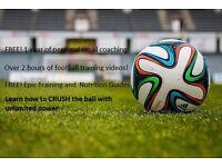Powerful football training dvd/video series