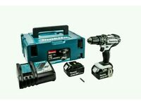 Makita - DHP482RFWJ - 18v Combi Drill White 2 X 3ah Batts