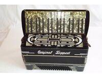 Original tappert 1940's 80 bass accordion.