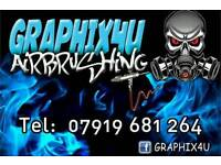 Airbrush paint services