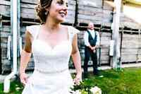 Wedding gown size 8