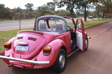 1971 VW Beetle - hot pink Kinross Joondalup Area Preview