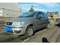 Fiat punto 2004 plate 1.2