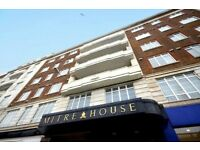 ONE BEDROOM FLAT TO RENT, MITRE HOUSE, BRIGHTON, PART FURNISHED